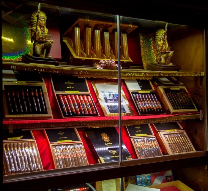 Campbell Cigar Store topself selection